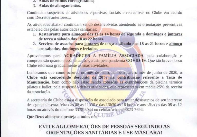 COMUNICADO/RESOLUÇÃO-09/06
