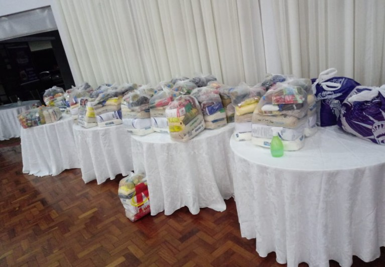 Toledão recebe donativos… Live Beneficente Dia dos Namorados em casa com Lu e Vilson